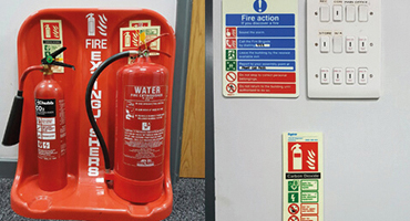 property maintenance services - fire extinguisher services