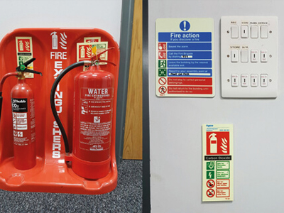Fire Safety compliance - extinguisher maintenance