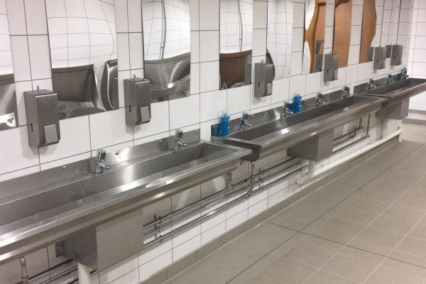 Hand Dryers and Soap Dispensers