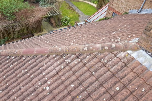 Repaired Roof Hip
