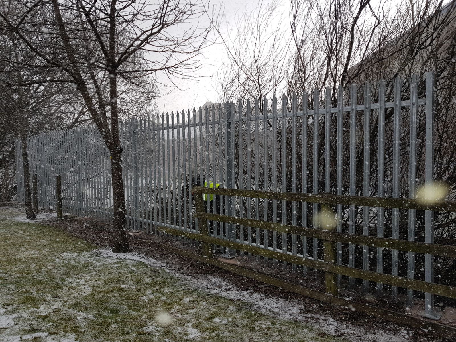 Canal Side Fencing