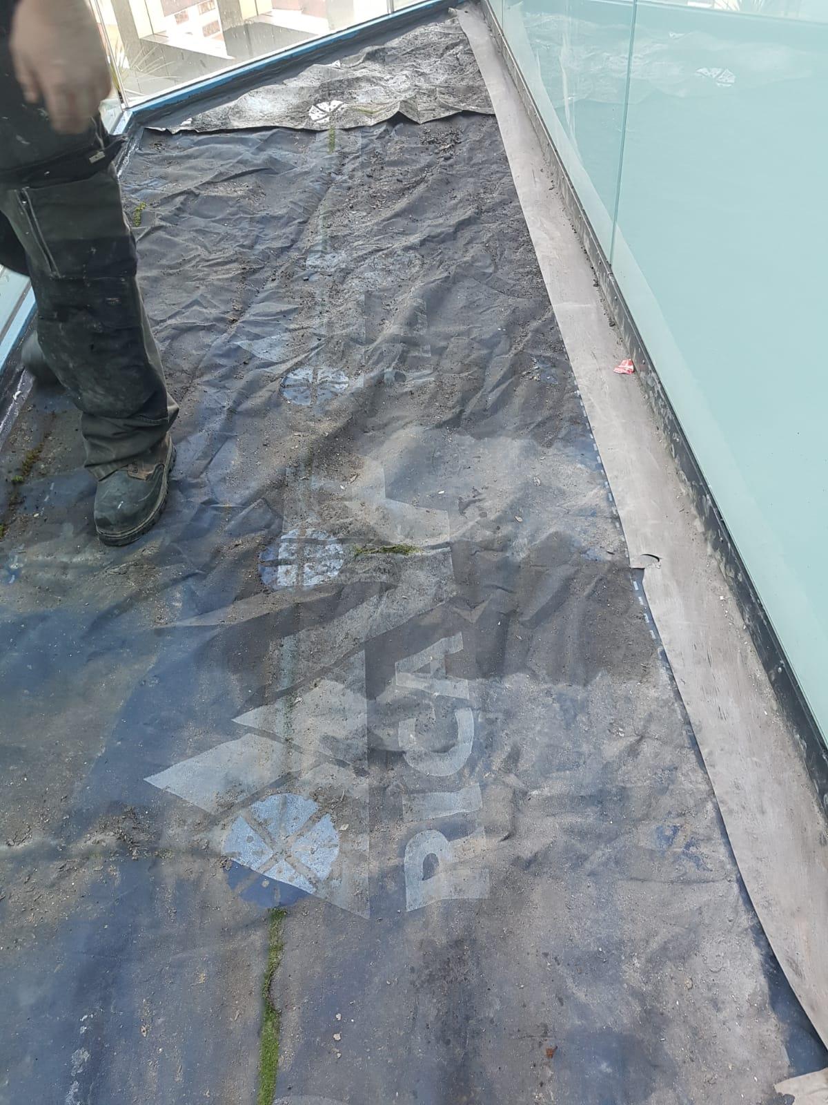 Birmingham Property Renovation at The Cube - Balcony Repairs 6