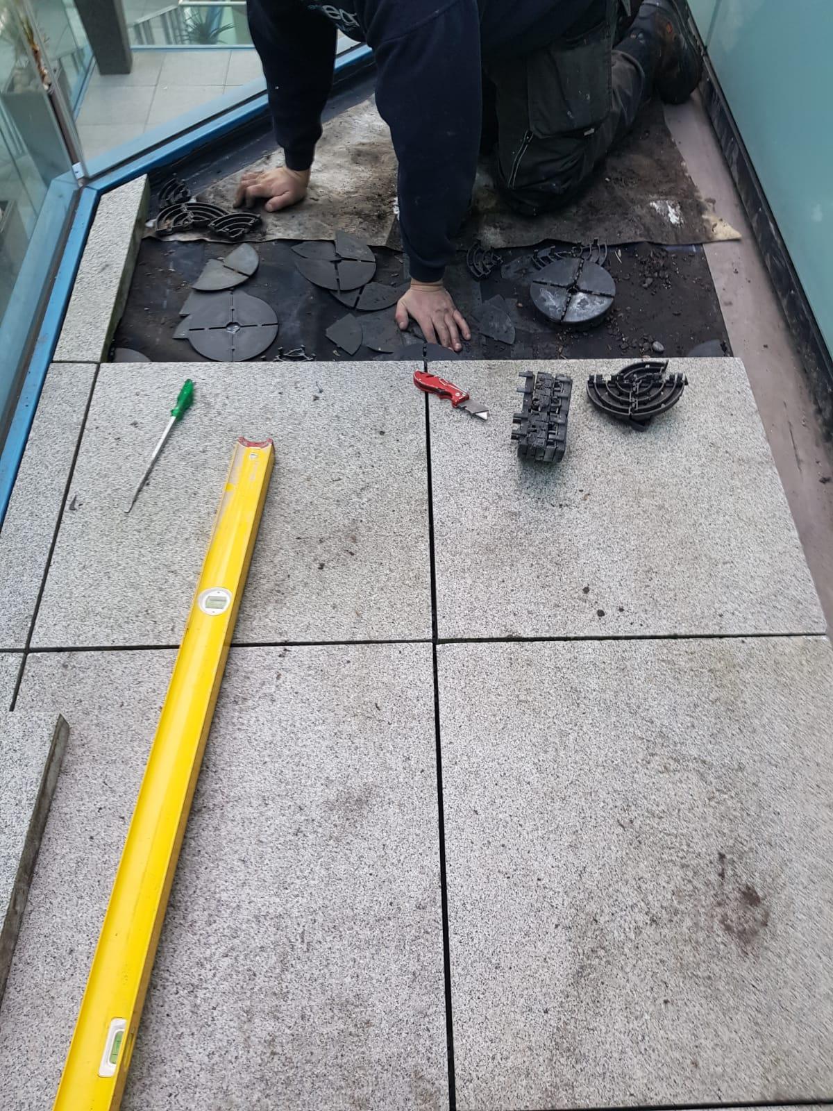 Birmingham Property Renovation at The Cube - Balcony Repairs 7