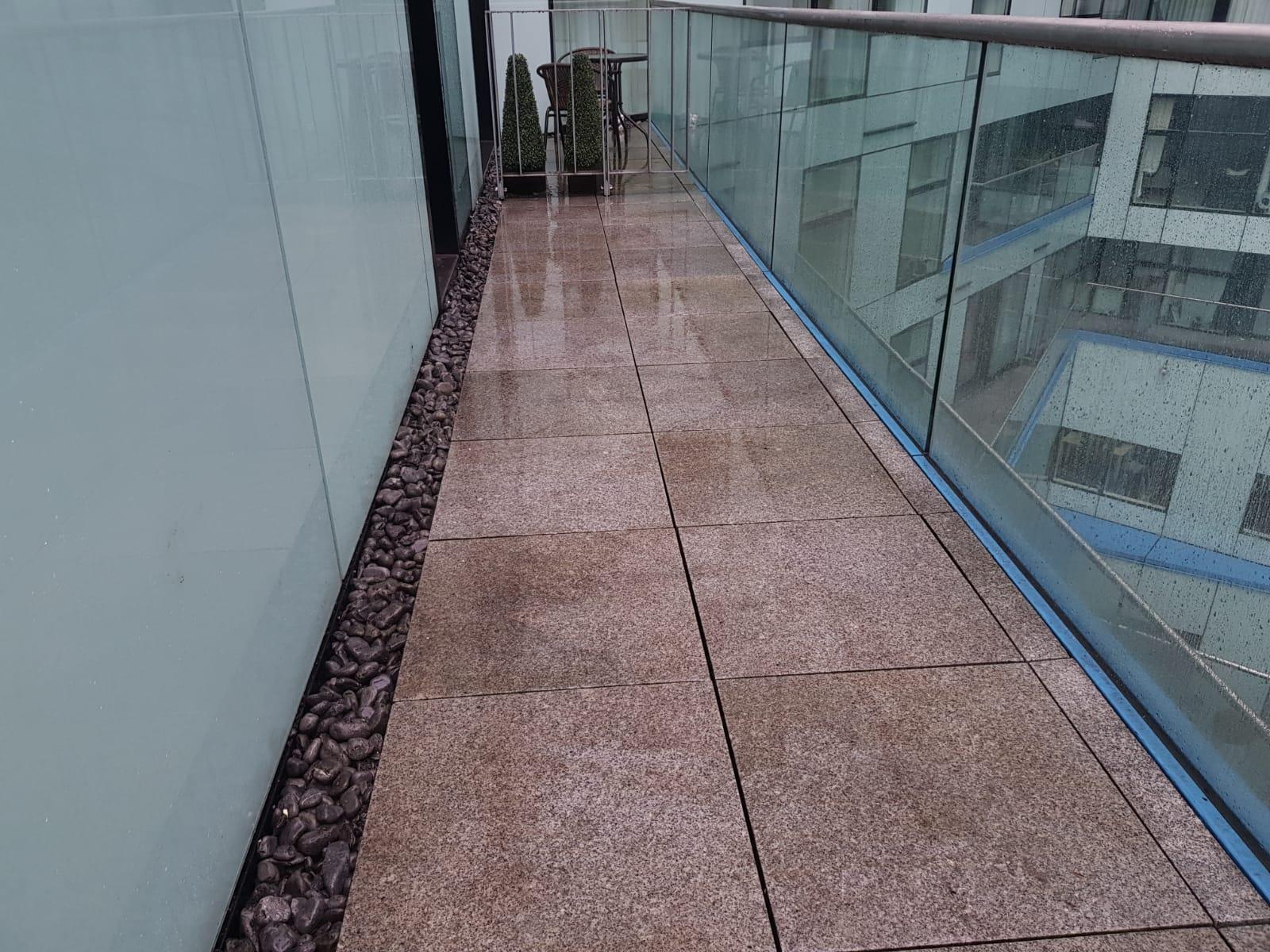 Birmingham Property Renovation at The Cube - Balcony Repairs 8