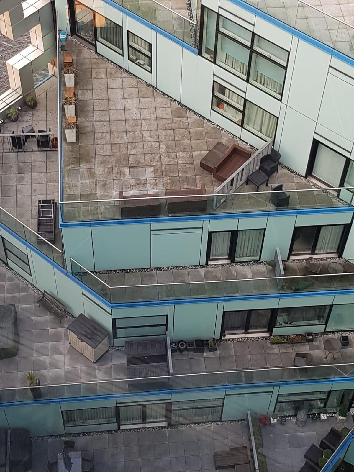 Birmingham Property Renovation at The Cube - Balcony Repairs 2