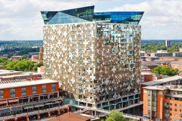 Birmingham Property Renovation at The Cube - Balcony Repairs